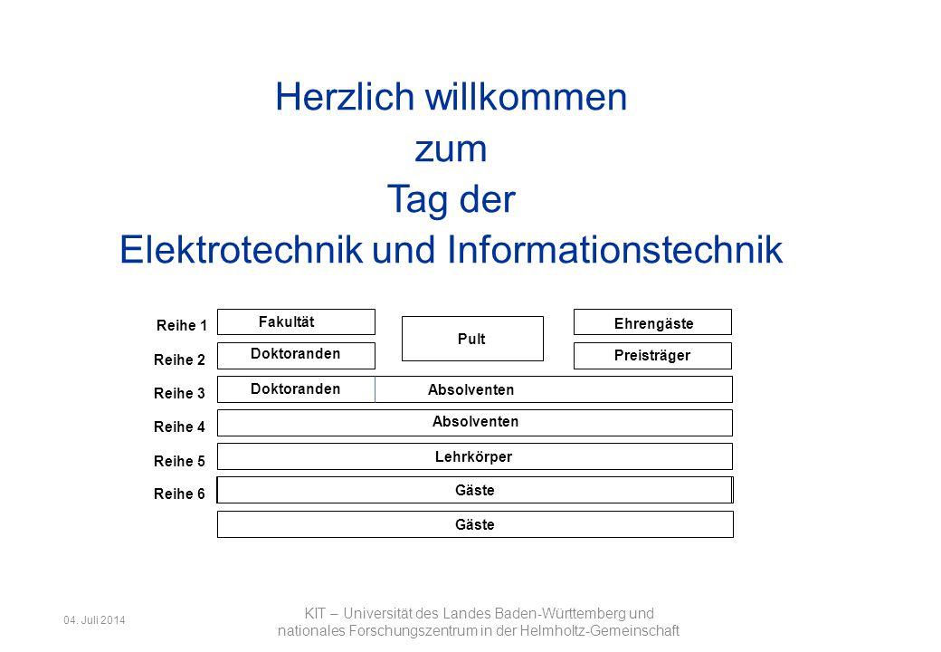 Herzlich willkommen zum Tag der Elektrotechnik und Informationstechnik