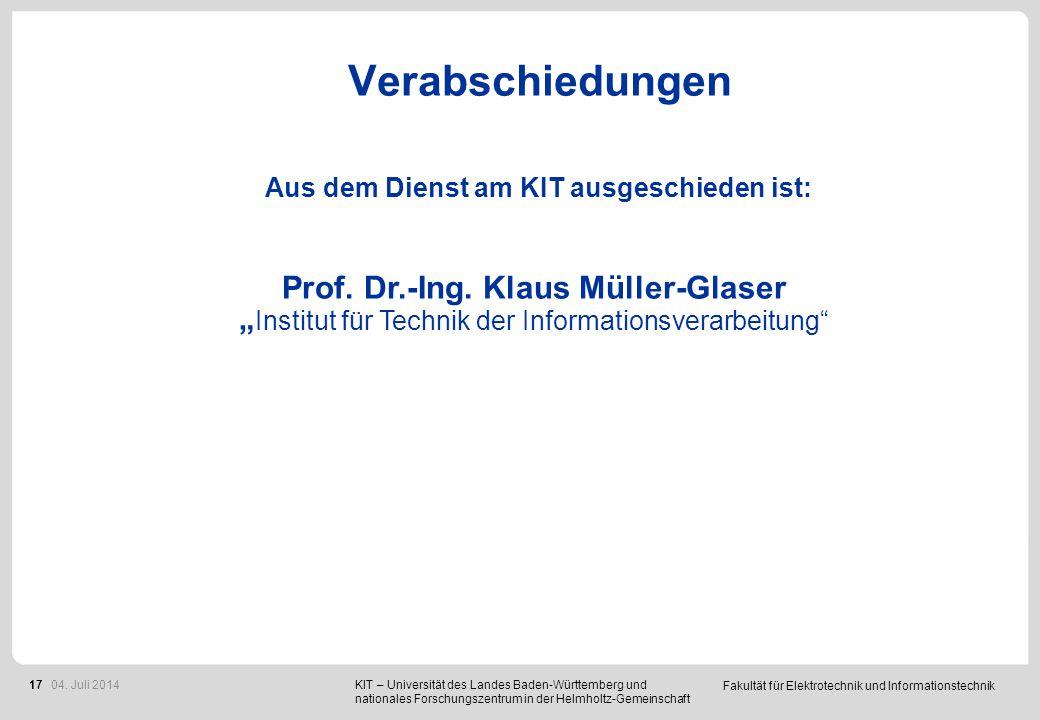 Berufungen Prof. Dr. rer. nat. Bernhard Holzapfel