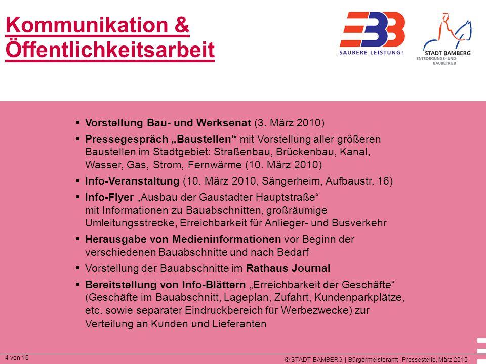 Kommunikation & Öffentlichkeitsarbeit