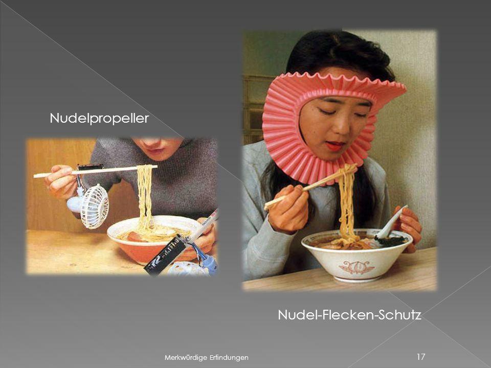 Nudel-Flecken-Schutz
