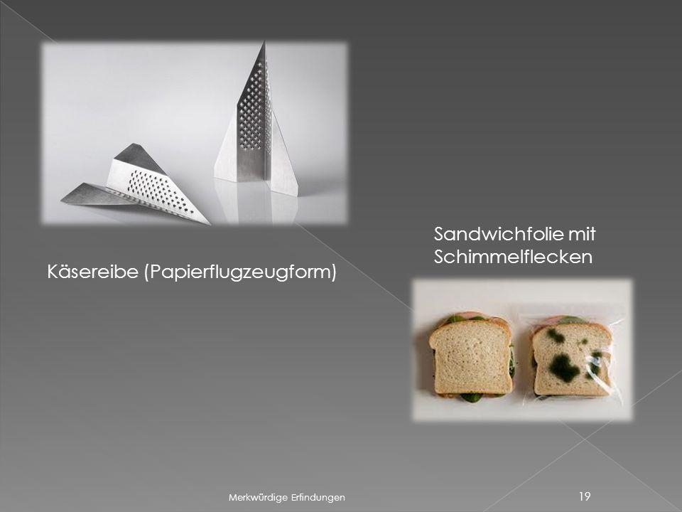 Käsereibe (Papierflugzeugform)