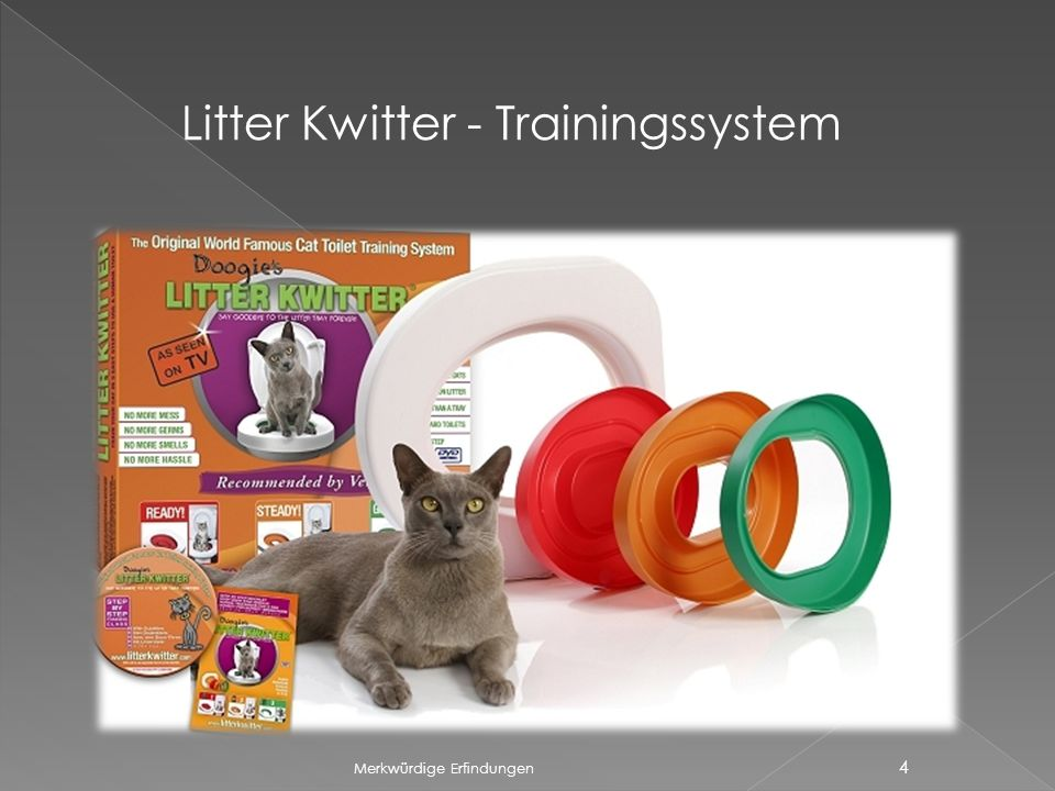 Litter Kwitter - Trainingssystem