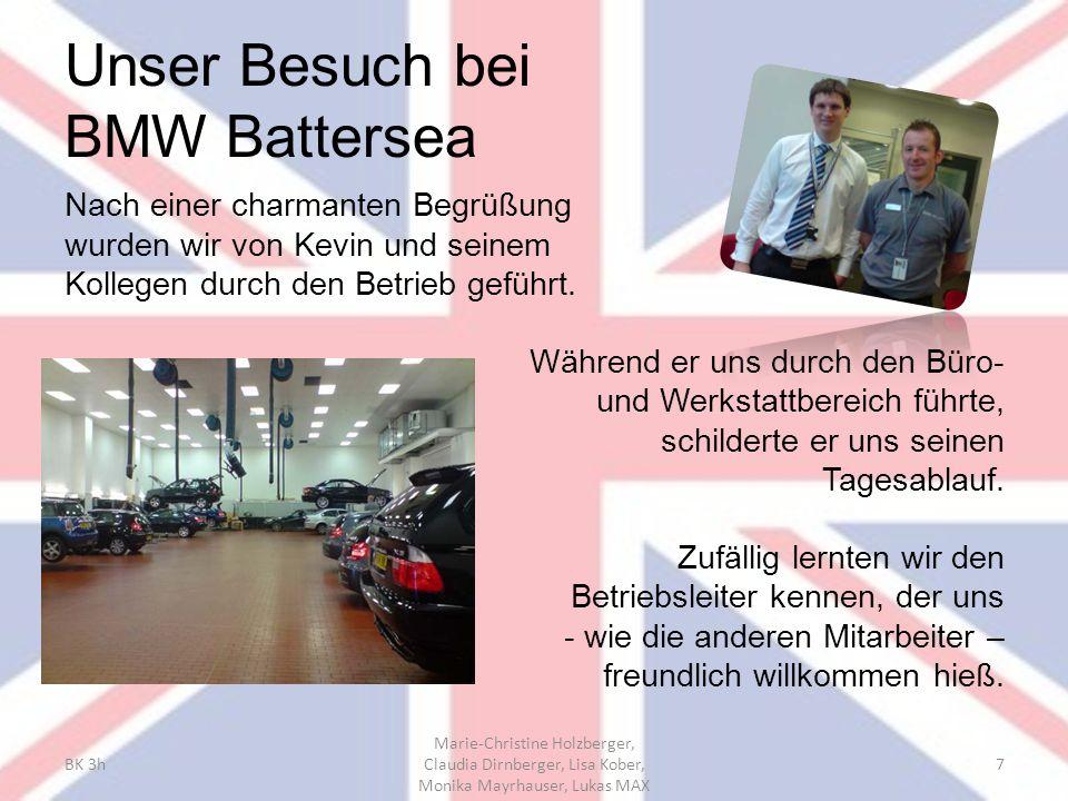 Unser Besuch bei BMW Battersea
