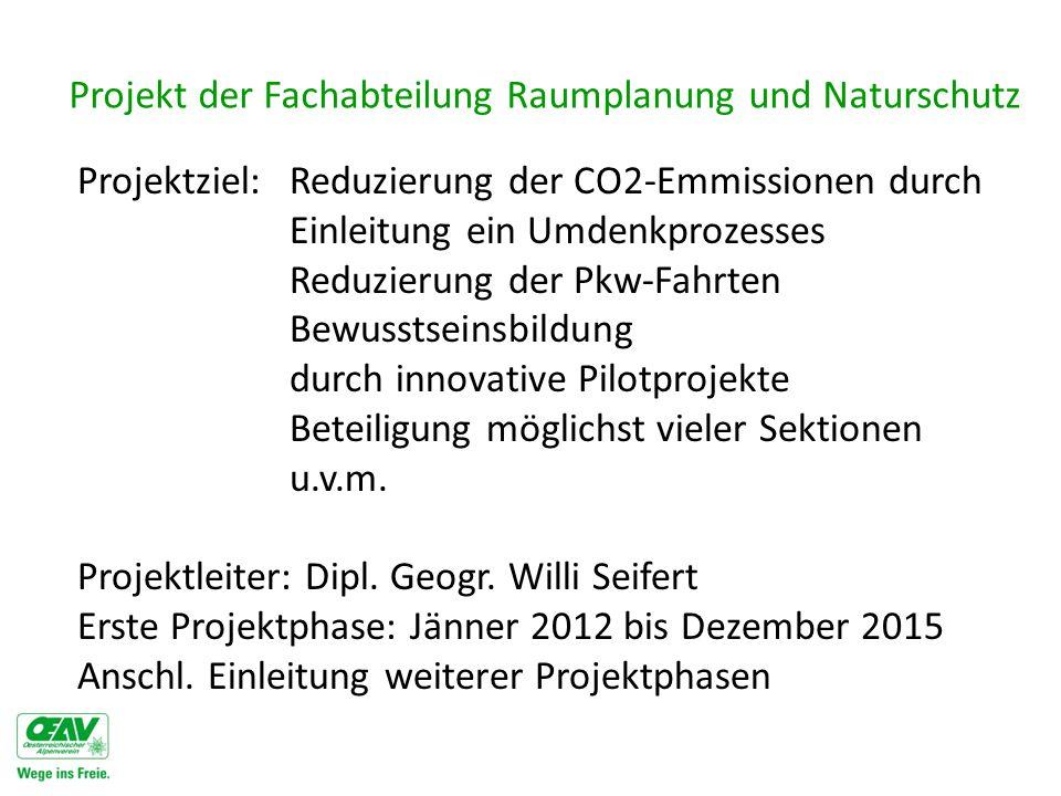 Projekt der Fachabteilung Raumplanung und Naturschutz