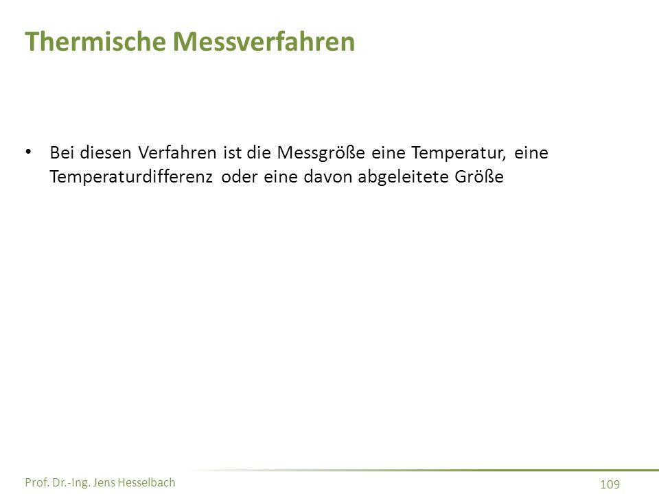 Thermische Messverfahren