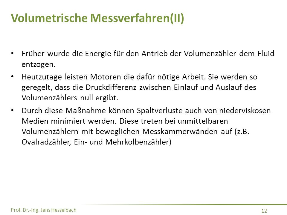 Volumetrische Messverfahren(II)