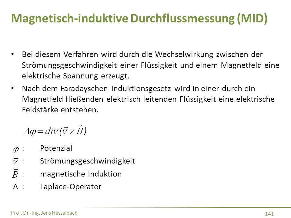 Magnetisch-induktive Durchflussmessung (MID)