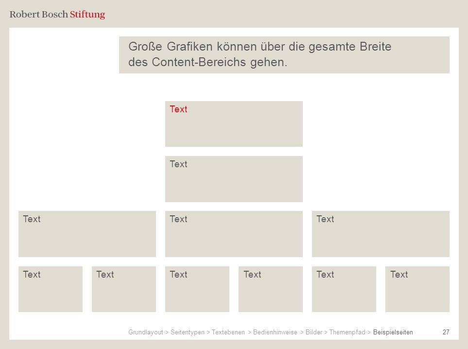 Große Grafiken können über die gesamte Breite des Content-Bereichs gehen.