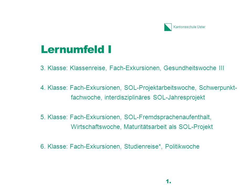 Lernumfeld I