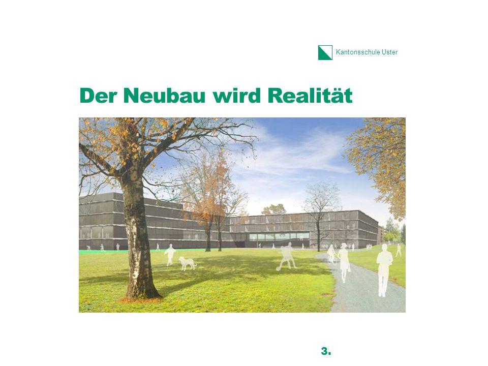 Der Neubau wird Realität
