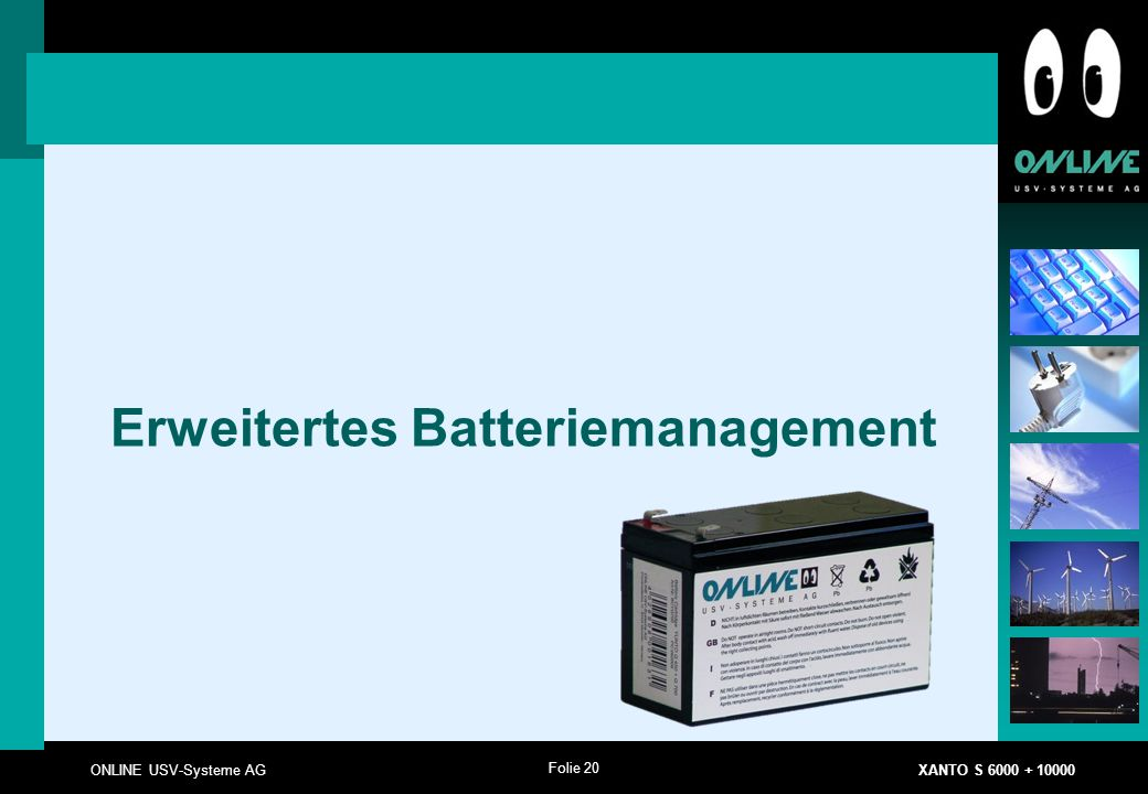 Erweitertes Batteriemanagement
