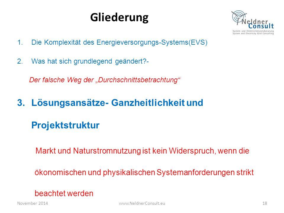 Gliederung Lösungsansätze- Ganzheitlichkeit und Projektstruktur