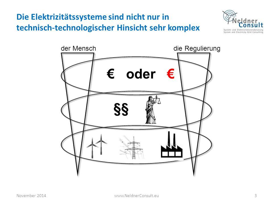 Die Elektrizitätssysteme sind nicht nur in technisch-technologischer Hinsicht sehr komplex