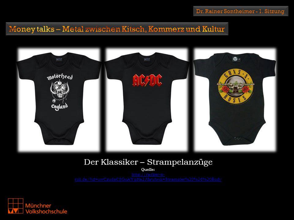 Money talks – Metal zwischen Kitsch, Kommerz und Kultur