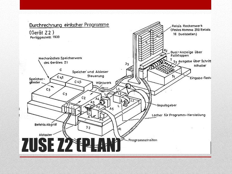 ZUSE Z2 (PLAN)