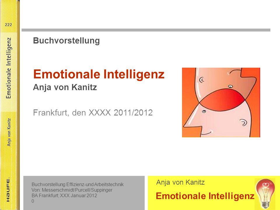 Inhaltsübersicht Teil 1: Praxiswissen Emotionale Intelligenz