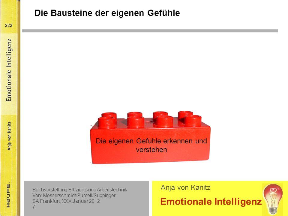 Baustein 1 Die eigenen Gefühle erkennen und verstehen