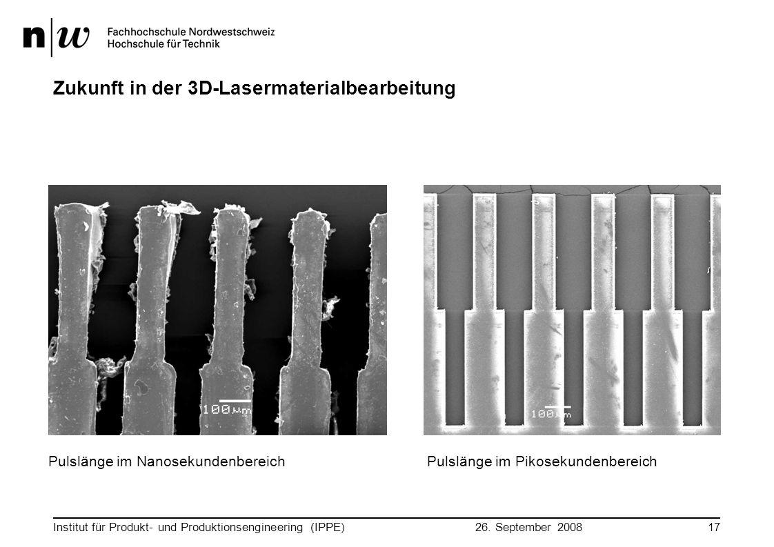Zukunft in der 3D-Lasermaterialbearbeitung