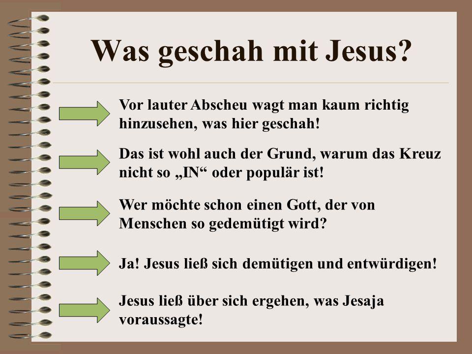 Was geschah mit Jesus Vor lauter Abscheu wagt man kaum richtig hinzusehen, was hier geschah!