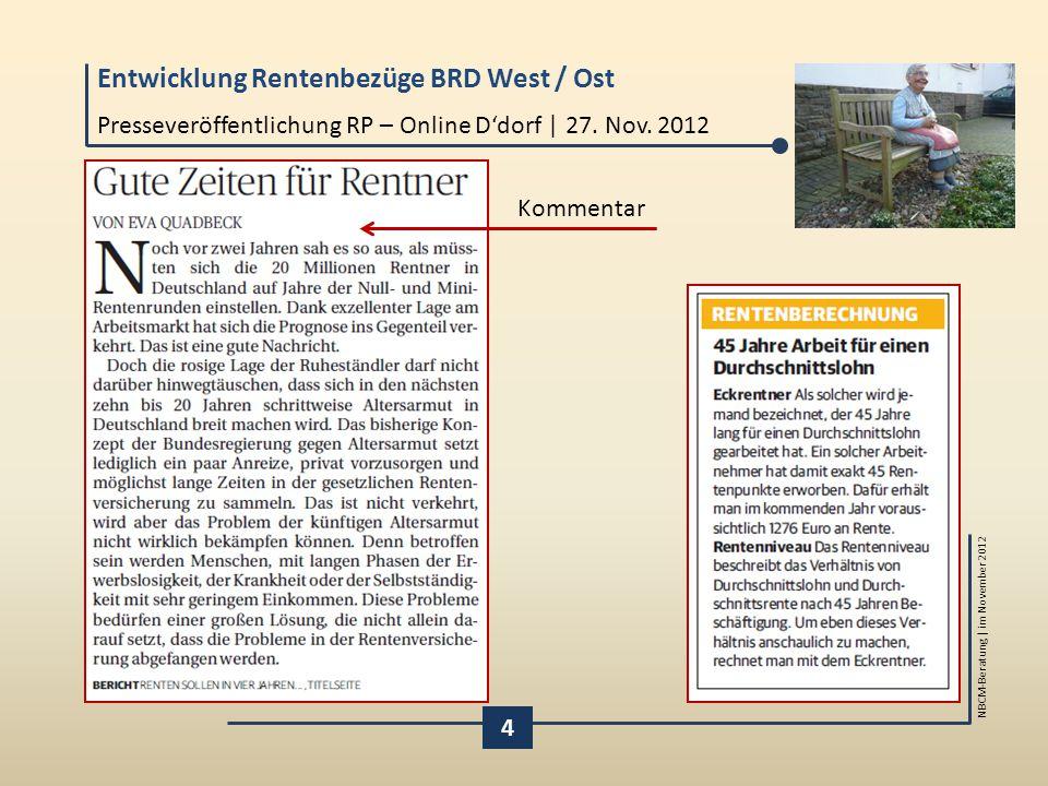 Presseveröffentlichung RP – Online D'dorf | 27. Nov. 2012