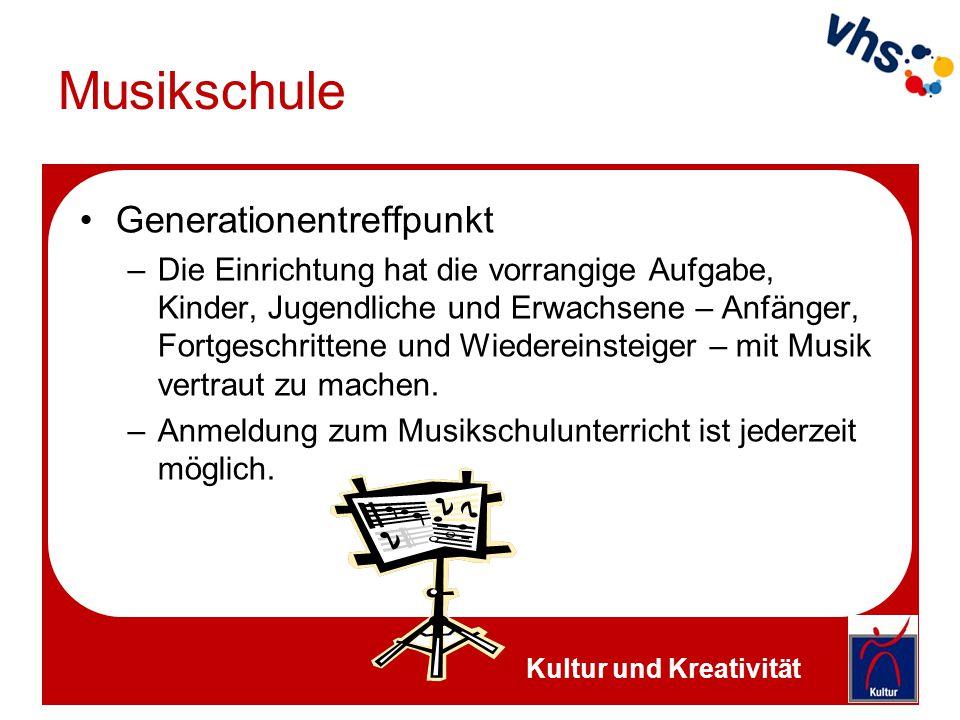 Musikschule Generationentreffpunkt