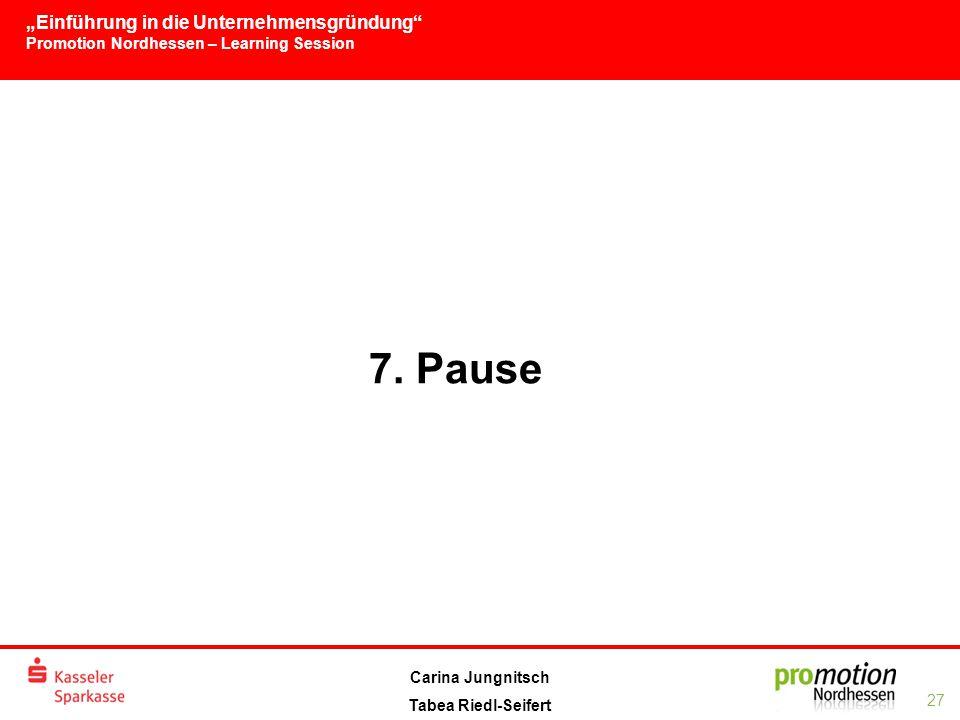 7. Pause