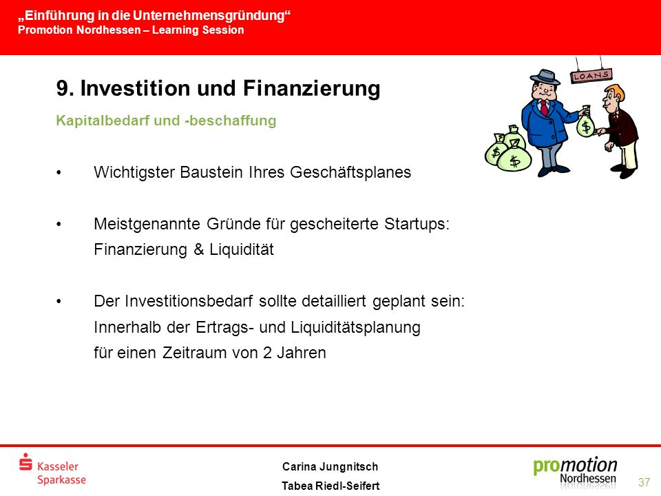 9. Investition und Finanzierung