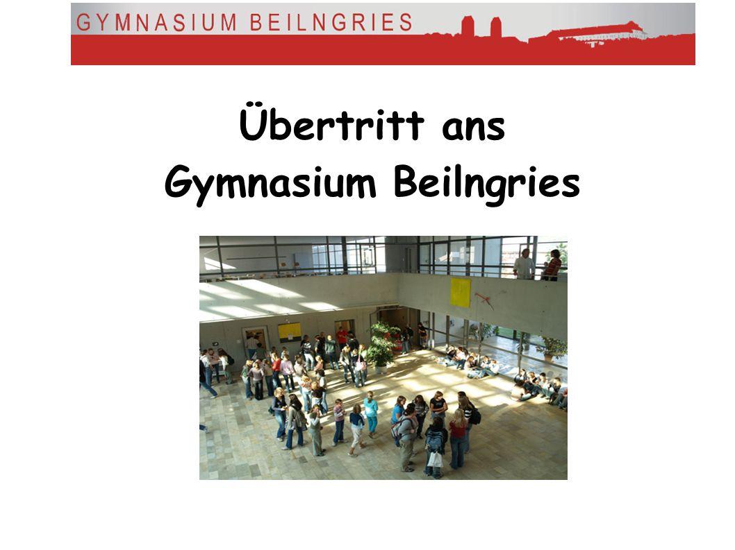Übertritt ans Gymnasium Beilngries