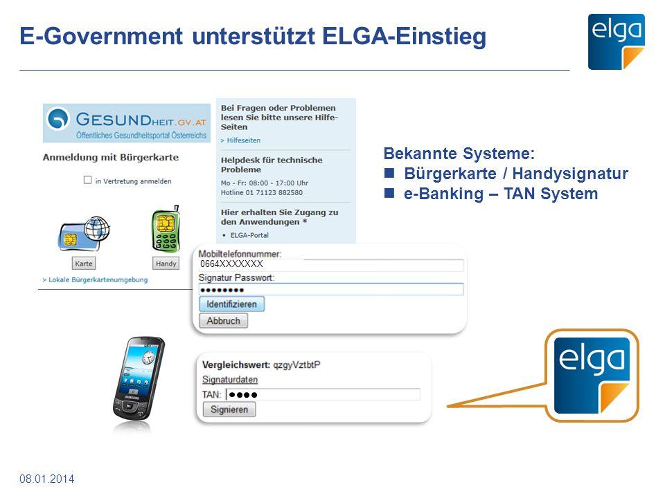 E-Government unterstützt ELGA-Einstieg