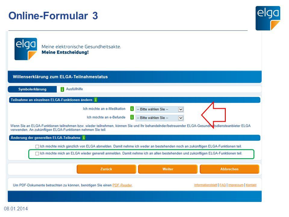 Online-Formular 3 08.01.2014