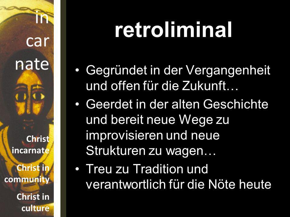 retroliminal Gegründet in der Vergangenheit und offen für die Zukunft…