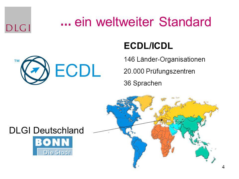 ein weltweiter Standard