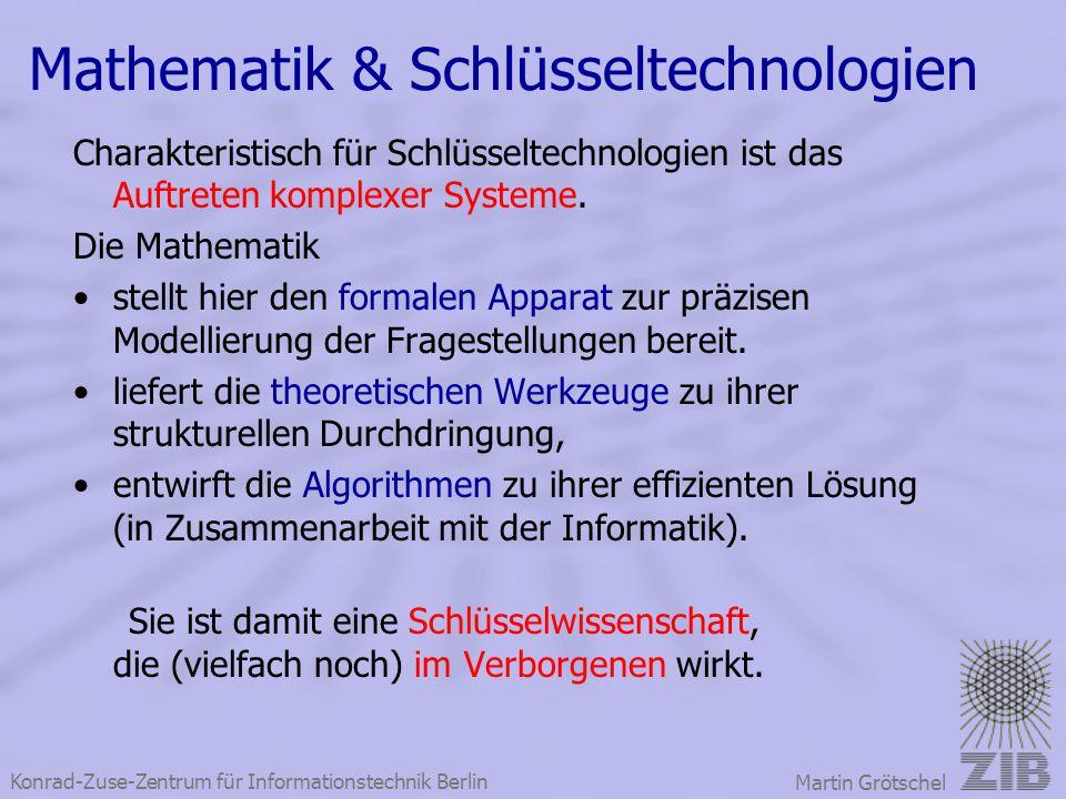 Mathematik & Schlüsseltechnologien