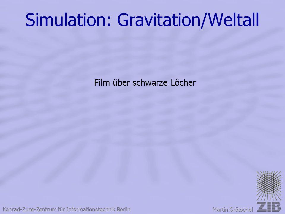 Simulation: Gravitation/Weltall