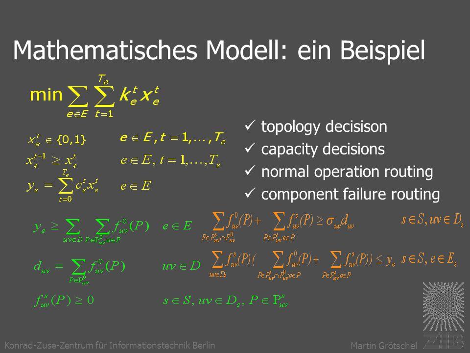 Mathematisches Modell: ein Beispiel