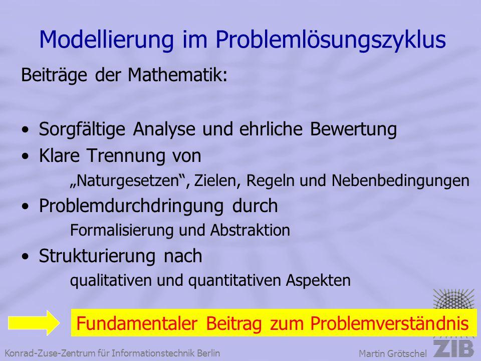 Modellierung im Problemlösungszyklus