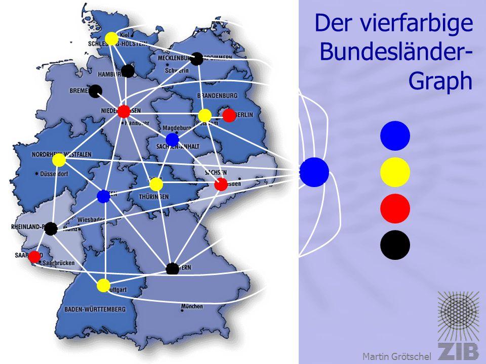 Der vierfarbige Bundesländer- Graph