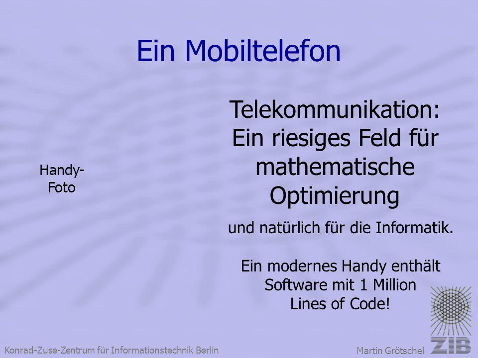 Ein Mobiltelefon Telekommunikation: Ein riesiges Feld für
