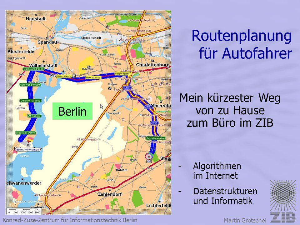 Routenplanung für Autofahrer