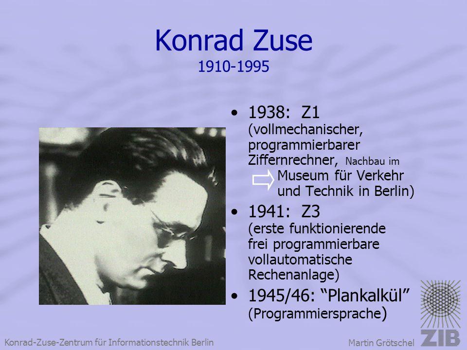 Konrad Zuse 1910-1995