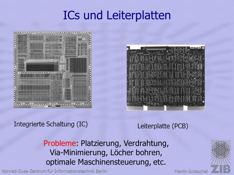 ICs und Leiterplatten Probleme: Platzierung, Verdrahtung,
