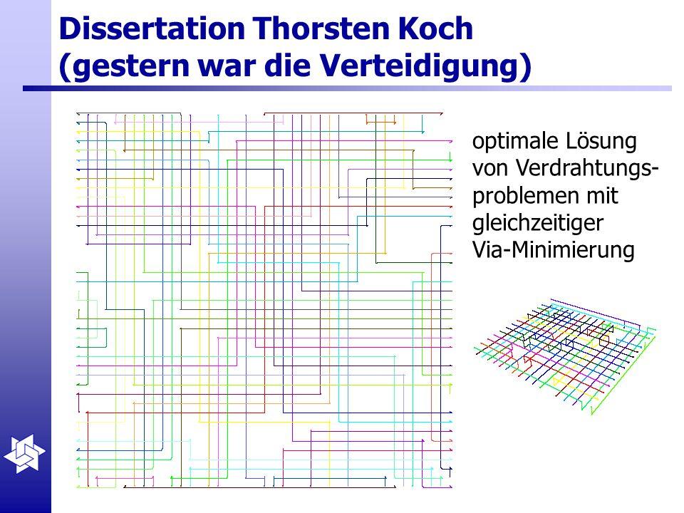 Dissertation Thorsten Koch (gestern war die Verteidigung)