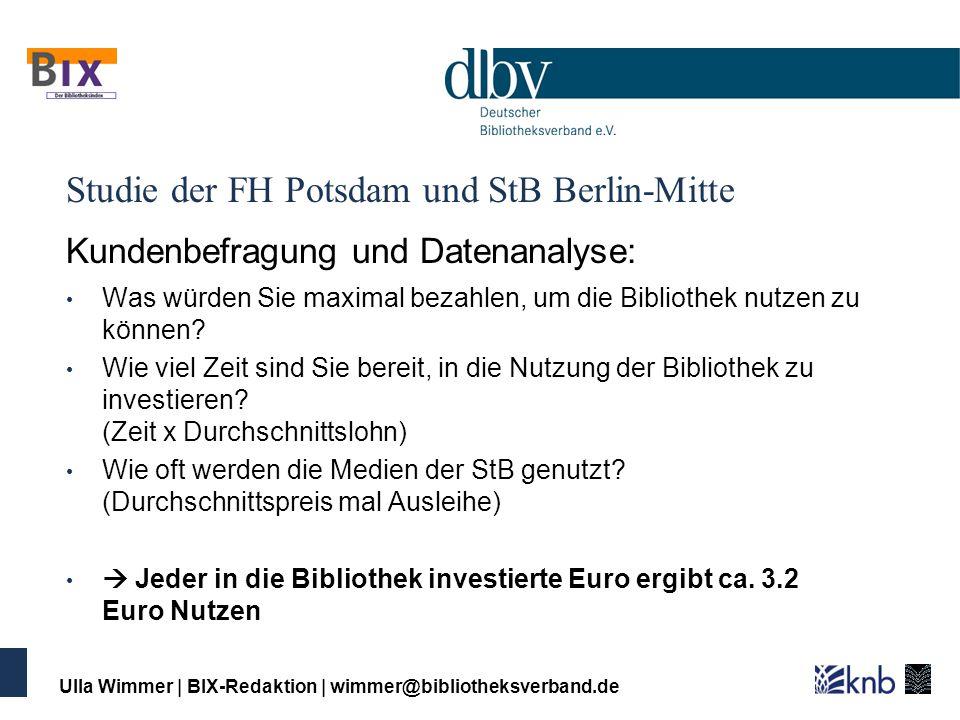 Studie der FH Potsdam und StB Berlin-Mitte