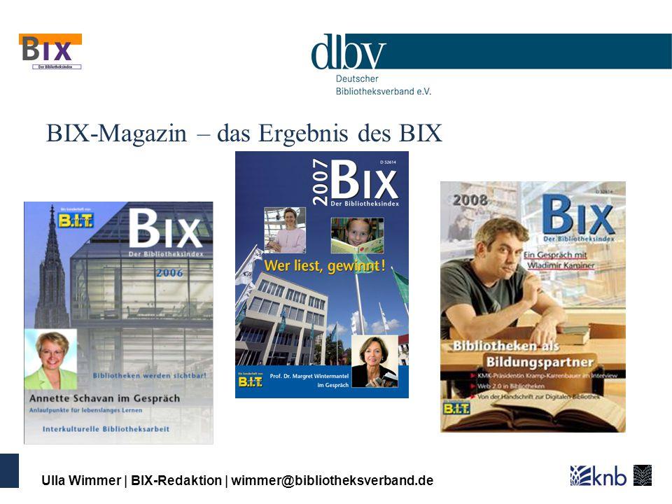 BIX-Magazin – das Ergebnis des BIX