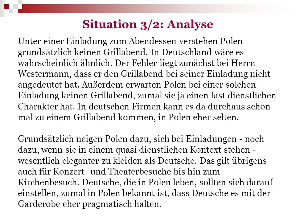 Situation 3/2: Analyse