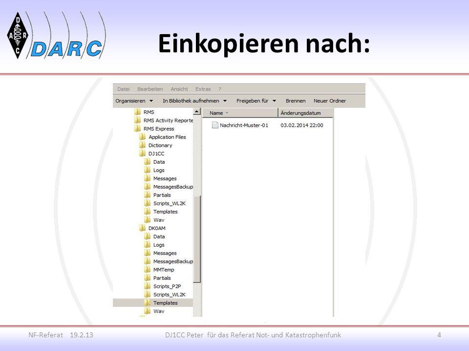 Einkopieren nach: NF-Referat 19.2.13