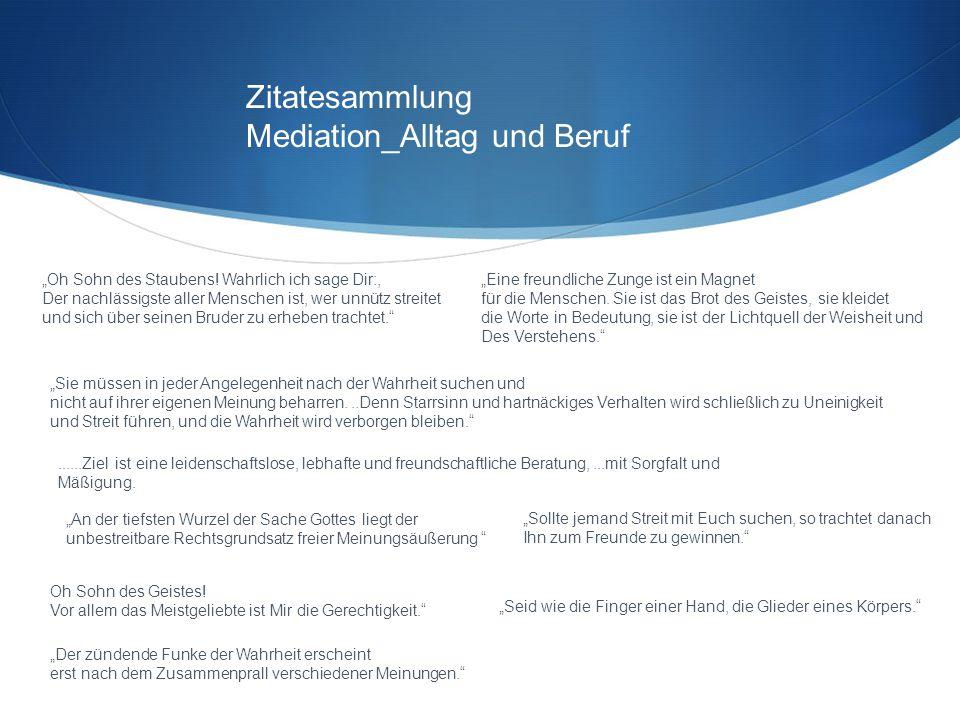 Mediation_Alltag und Beruf