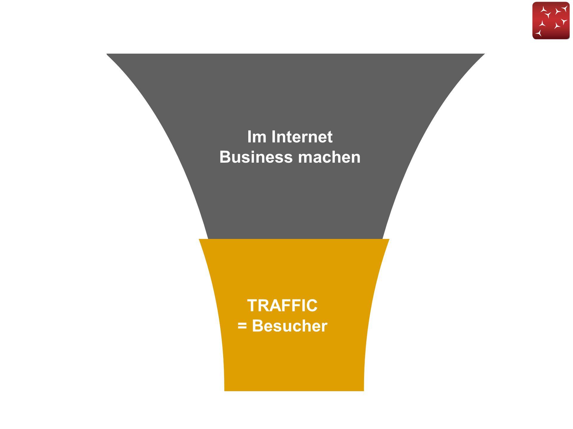 Im Internet Business machen TRAFFIC = Besucher