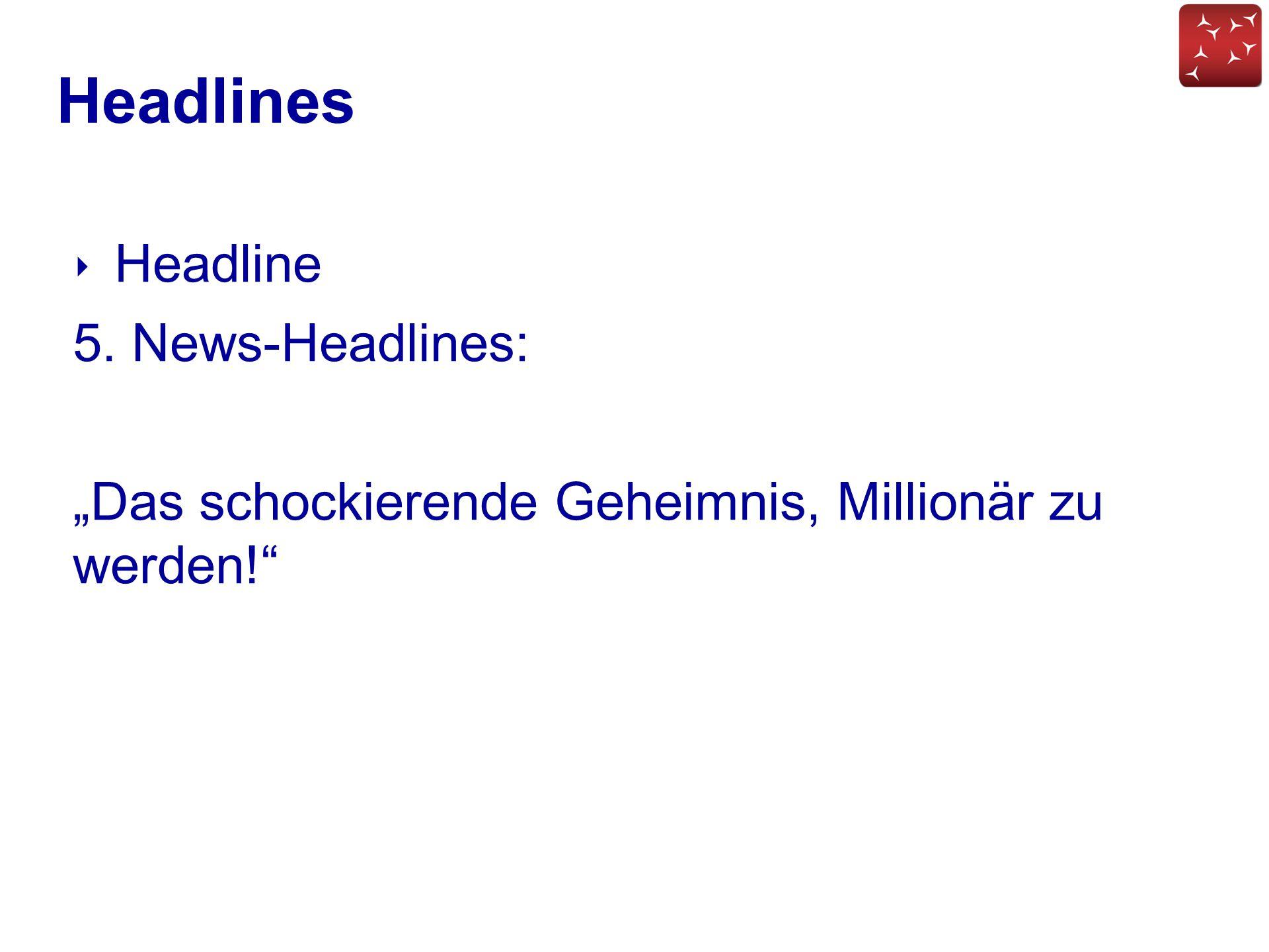 Headlines Headline 5. News-Headlines: