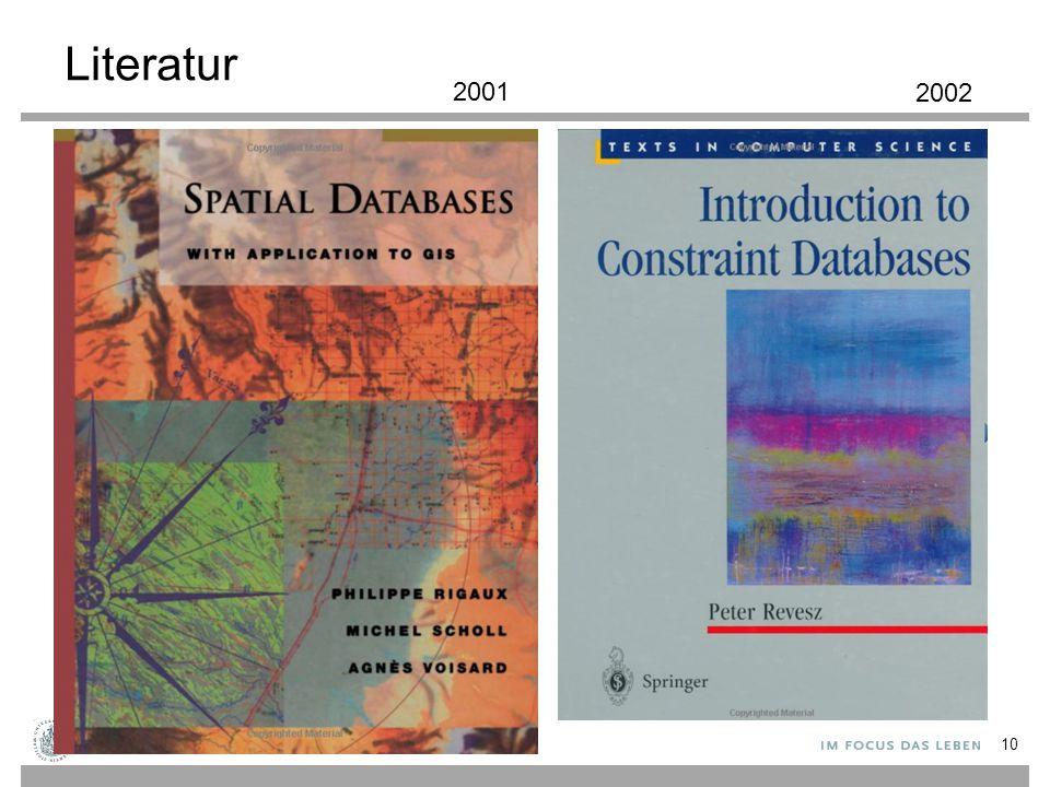 Literatur 2001 2002